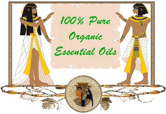 100% Pure Organic Essential Oils