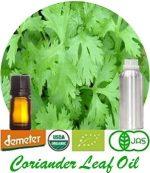 Organic Coriander Leaf Oil