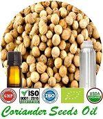 Organic Coriander Seed Oil (p) 150x173