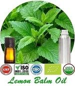 Organic Lemon Balm Oil (p) 150x173