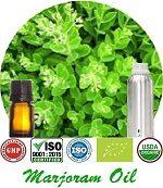 Organic Marjoram Oil (p) 150x173