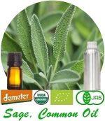 Organic Sage, Common Oil