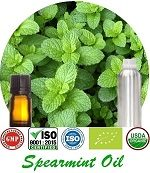 Organic Spearmint Oil (p) 150x173